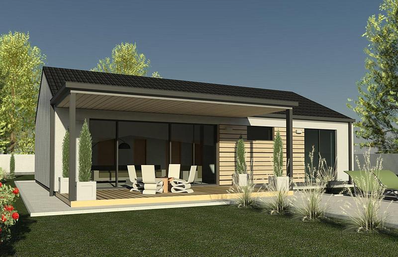Wranders projekty rodinn ch domov ch t chal p dom - Maison prefabriquee bois prix ...